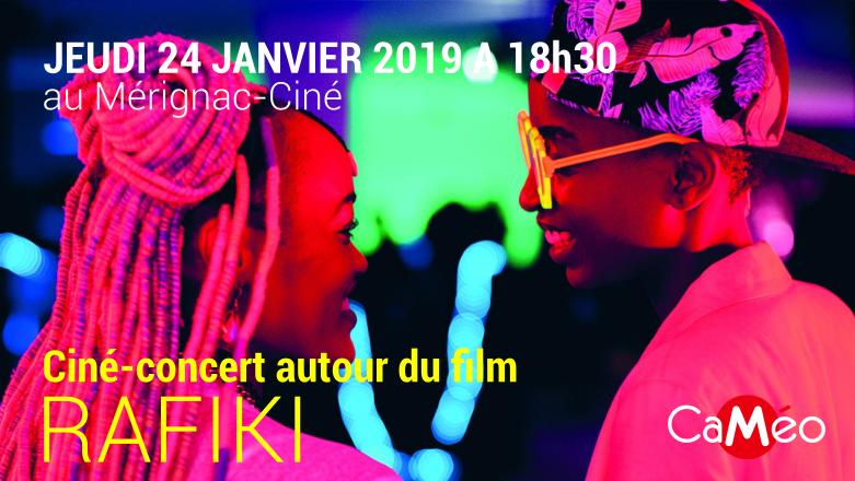 Ciné-Concert CaMéo autour de RAFIKI